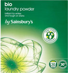 Sainsburys Biological Powder - 20 Washes