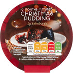 Sainsburys Christmas Pudding 100g