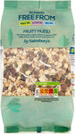 Sainsburys Deliciously Freefrom Fruity Muesli 450g