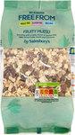 Sainsburys Deliciously Freefrom Fruity Muesli 450g