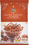 Sainsburys Festive Pretzels Salted Caramel 300g