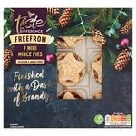 Sainsburys Free From Mini Mince Pies, Taste the Difference x 9 275g