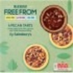Sainsburys Free From Pecan Tarts 4 Pack