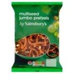 Sainsburys Jumbo Pretzels Multiseed 200g