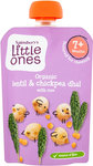 Sainsburys Little Ones Organic Lentil and Chickpea Dhal with Rice 7mth+ 130g