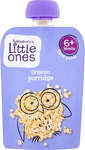 Sainsburys Little Ones Organic Porridge 6mth+ 130g