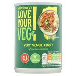 Sainsburys Love Your Veg Very Veggie Curry 400g