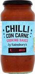 Sainsburys Mild Chilli Con Carne Cooking Sauce 500g