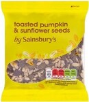 Sainsburys Pumpkin and Sunflower Seeds 100g