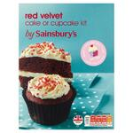 Sainsburys Red Velvet Cupcake Kit 570g