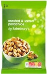 Sainsburys Roasted and Salted Pistachios 150g