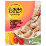 Sainsburys Summer Edition Wholegrain Summer Fruit Wheats 500g