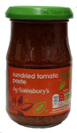 Sainsburys Sun Dried Tomato Paste 190g