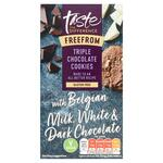 Sainsburys Taste the Difference Free From Triple Chocolate Cookies 150g