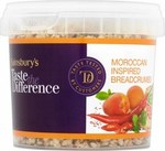 Sainsburys Taste the Difference Moroccan Inspired Breadcrumbs 135g