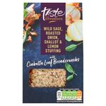 Sainsburys Taste the Difference Wild Sage Roasted Onion Shallot and Lemon Stuffing 110g