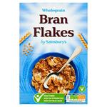 Sainsburys Wholegrain Bran Flakes 750g