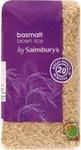 Sainsburys Wholegrain Brown Basmati Rice 1kg