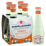 San Pellegrino Citrus Tonic Water 4x200ml Glass Bottles