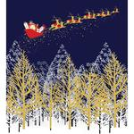 Santa Charity Pack of Christmas Cards 5 per pack