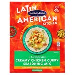 Santa Maria Latin American Caribbean Creamy Chicken Curry Mix 28g