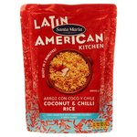 Santa Maria Latin American Coconut and Chilli Rice 250g