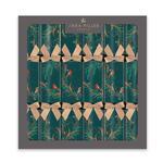 Sara Miller Green Robins Christmas Crackers 6 per pack