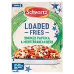 Schwartz Loaded Fries Smoked Paprika and Mediterranean Herb Seasoning Mix 20G