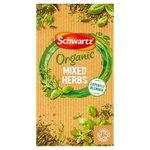 Schwartz Organic Mixed Herbs Refill 12g