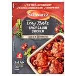Schwartz Tray Bake Spicy Cajun Chicken Recipe Mix 30g