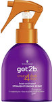 Schwarzkopf Got2b Crazy 4 Sleek Days Heat Activated Straightening Spray 200ml