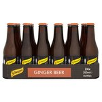 Schweppes Ginger Beer 24x200ml Bottles