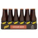 Schweppes Ginger Beer 24x200ml Bottles