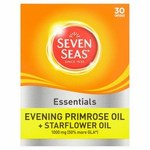 Seven Seas Evening Primrose Oil and Starflower Oil 1000mg 30 per pack