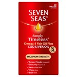 Seven Seas One A Day Cod Liver Oil Maximum Strength Capsules 60 per pack