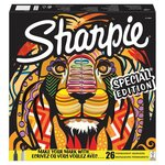 Sharpie Permanent Mark Limited Edition Lion Box 26 Pack