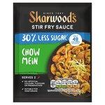 Sharwoods Chow Mein 30% Less Sugar Stir Fry 120g Sachet