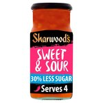 Sharwoods Sweet and Sour 30% Reduced Sugar Cooking Sauce 425g