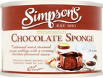 Simpsons Chocolate Sponge 300g