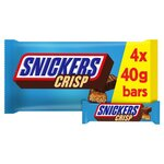 Snickers Crisp 4 Pack