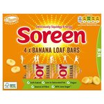 Soreen Banana Loaf Bars 4 x 42g