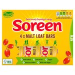 Soreen Malt Loaf Bars 4 x 42g