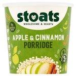 Stoats Apple and Cinnamon Porridge Pot 60g