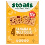 Stoats Banana And Multiseed Porridge Bar Multipacks 4X45g