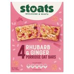Stoats Rhubarb And Ginger Porridge Bar Multipacks 4X50g
