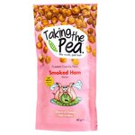 Taking The Pea Smoked Ham Flavoured Crunchy Peas 40g