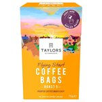 Taylors Flying Start Coffee Bags 10 per pack