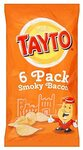 Tayto Smoky Bacon Multipack Crisps 6 x 25g