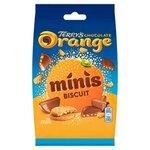 Terrys Milk Chocolate Orange Minis Biscuits 115g