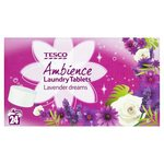 Tesco Ambience Tablets Lavender 48 Pack 24 Wash